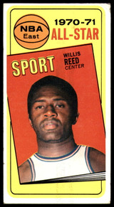 1970-71 Topps #110 Willis Reed AS VG ID: 74466