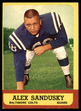 1963 Topps #6 Alex Sandusky EX/NM