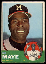 1963 Topps #109 Lee Maye EX Excellent