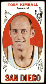 1969-70 Topps #39 Toby Kimball EX ID: 54854