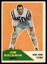 1960 Fleer #30 Jim Baldwin EX++