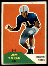 1960 Fleer #31 Jim Yates EX++