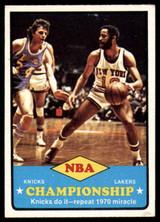 1973-74 Topps #68 Knicks Champs EX++