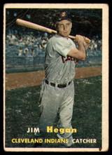 1957 Topps #136 Jim Hegan G/VG Good/Very Good