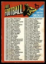 1971 Topps #106 Checklist DP VG