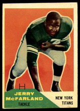 1960 Fleer #126 Jerry McFarland EX++