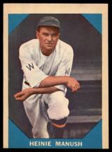 1960 Fleer #18 Heinie Manush EX ID: 53150