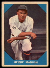 1960 Fleer #18 Heinie Manush EX ID: 53152