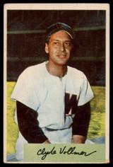 1954 Bowman #136 Clyde Vollmer G ID: 80045