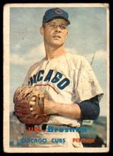 1957 Topps #155 Jim Brosnan G/VG Good/Very Good