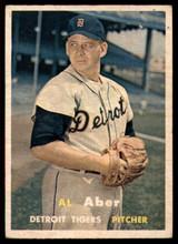 1957 Topps #141 Al Aber G/VG