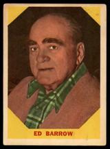 1960 Fleer #23 Ed Barrow EX ID: 53186