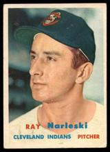 1957 Topps #144 Ray Narleski VG