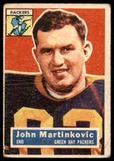 1956 Topps #91 John Martinkovic G/VG