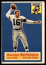 1956 Topps #93 George Ratterman G/VG