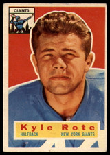 1956 Topps #29 Kyle Rote VG ID: 79333