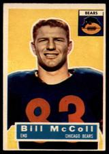 1956 Topps #83 Bill McColl VG