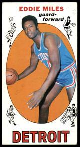 1969-70 Topps #21 Eddie Miles EX ID: 54782