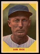 1960 Fleer #34 Sam Rice EX ID: 53247