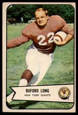 1954 Bowman #43 Buford Long VG Very Good  ID: 96324