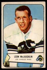 1954 Bowman #56 Leon McLaughlin VG Very Good  ID: 96345