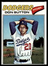 1977 Topps #620 Don Sutton EX/NM