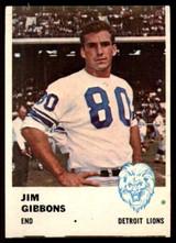 1961 Fleer #82 Jim Gibbons VG/EX
