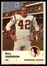 1961 Fleer #111 Bill Anderson VG/EX ID: 74784