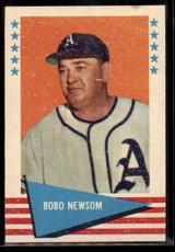 1961 Fleer #67 Bobo Newsom EX++