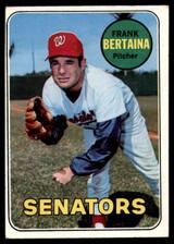 1969 Topps #554 Frank Bertaina EX/NM
