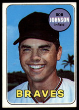 1969 Topps #261 Bob Johnson EX++ Excellent++  ID: 99515