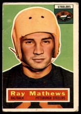 1956 Topps #75 Ray Mathews G