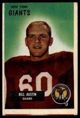 1955 Bowman #11 Bill Austin VG