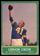 1963 Topps #45 Lindon Crow EX++  ID: 83906