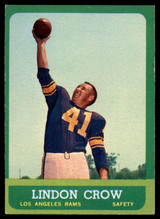 1963 Topps #45 Lindon Crow EX++  ID: 83907