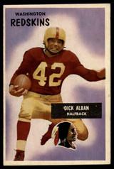 1955 Bowman #12 Dick Alban VG ID: 70341