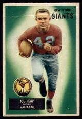 1955 Bowman #55 Joe Heap VG RC Rookie ID: 70599