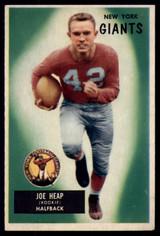 1955 Bowman #55 Joe Heap VG RC Rookie ID: 70600