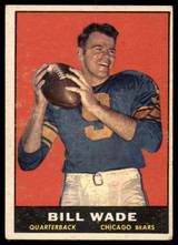 1961 Topps #10 Bill Wade EX++