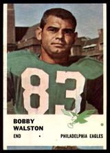 1961 Fleer #54 Bobby Walston VG/EX