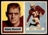 1957 Topps #62 John Olszewski G/VG