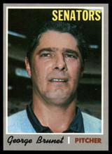 1970 Topps #328 George Brunet NM-MT  ID: 82711