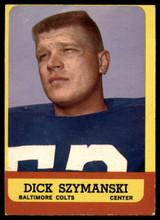 1963 Topps #7 Dick Szymanski EX RC Rookie