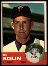 1963 Topps #106 Bobby Bolin VG Very Good