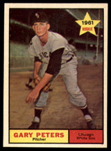 1961 Topps #303 Gary Peters VG/EX Very Good/Excellent