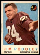 1959 Topps #165 Jim Podoley EX++