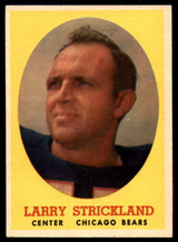 1958 Topps #99 Larry Strickland VG ID: 73825
