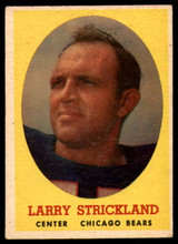 1958 Topps #99 Larry Strickland VG ID: 73826