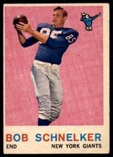 1959 Topps #128 Bob Schnelker EX++
