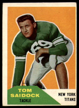 1960 Fleer #64 Tom Saidock VG